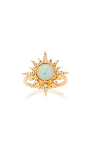 JENNY DEE | Jenny Dee Electra Maxima Opal Ring | Goxip