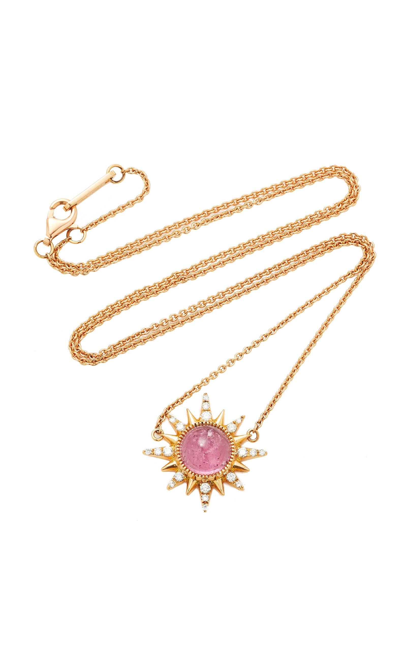 JENNY DEE Electra Necklace in Purple