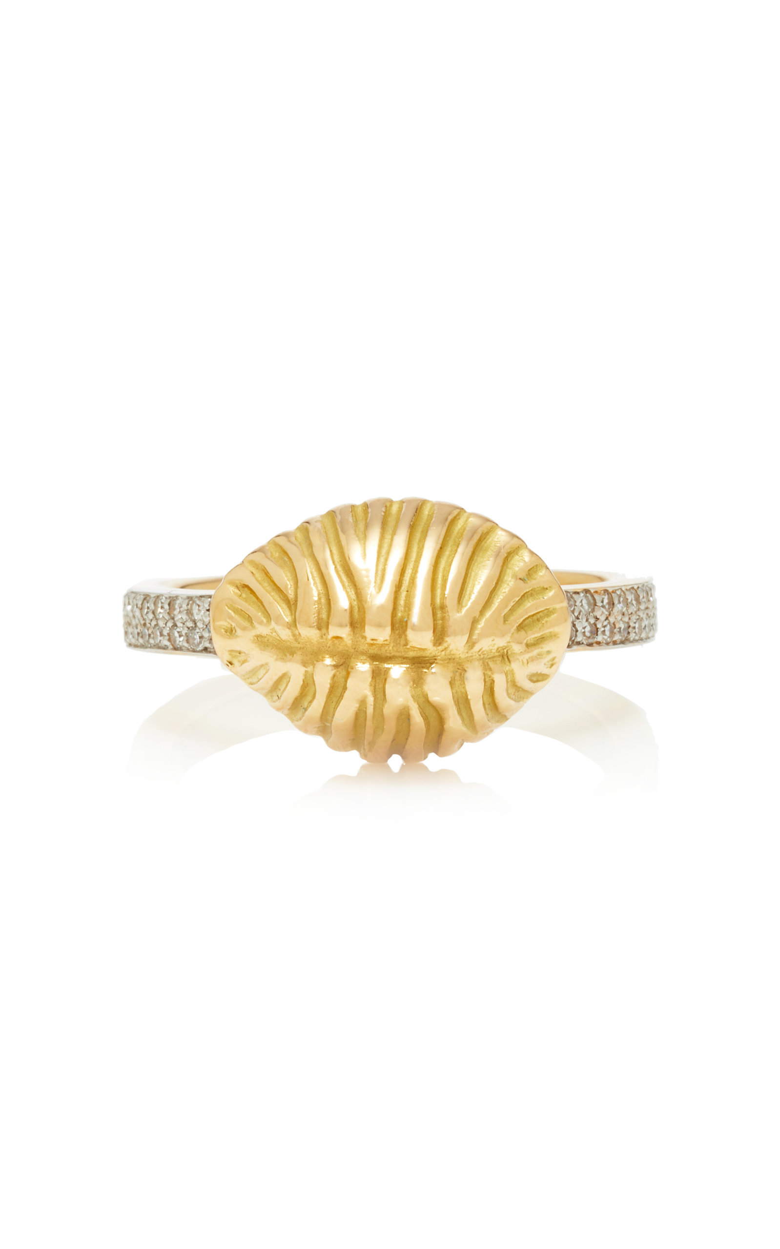 RENNA PERFECT IMPERFECT DIAMOND RING