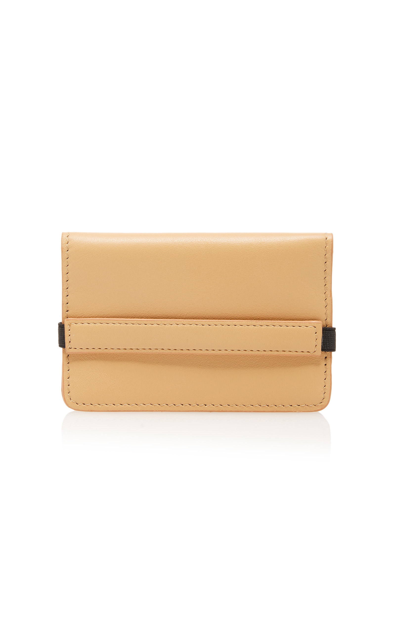 0a94ef3df96e Accordian Textured-Leather Wallet by Common Projects | Moda Operandi