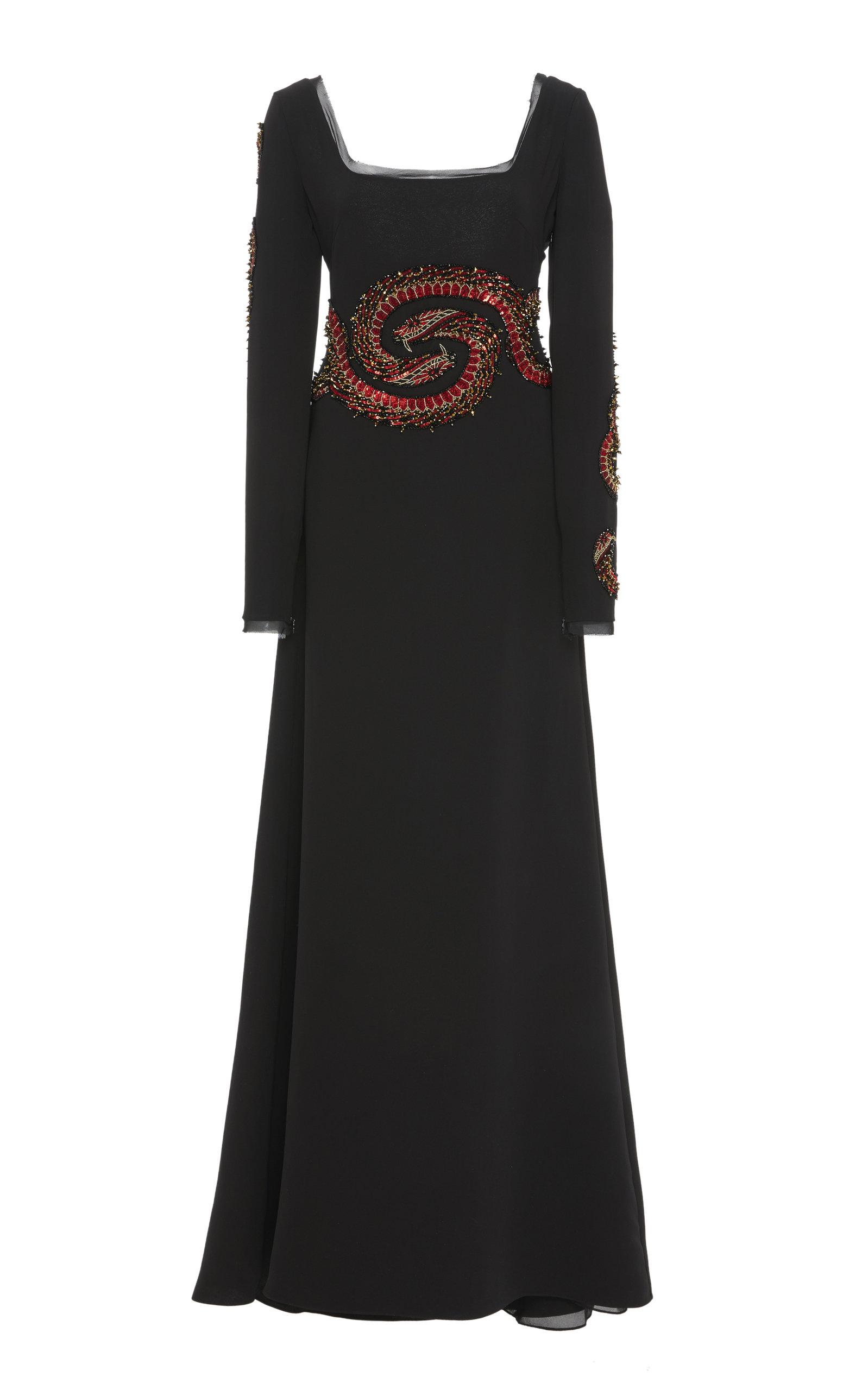 CUCCULELLI SHAHEEN SNAKE NOUVEAU DRESS
