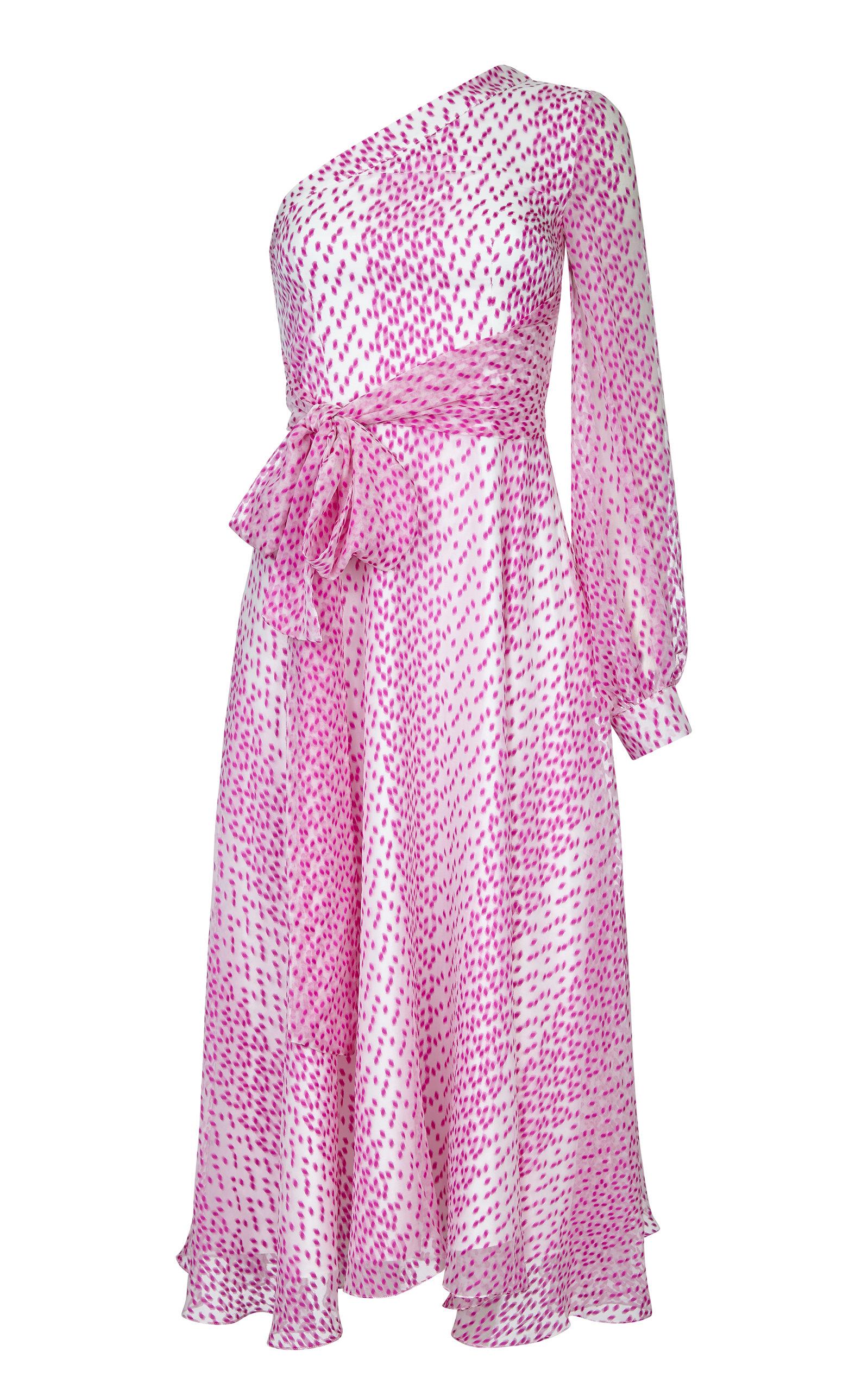 0c32c5f4fa4 SafiyaaValeria One Shoulder Midi Dress. CLOSE. Loading