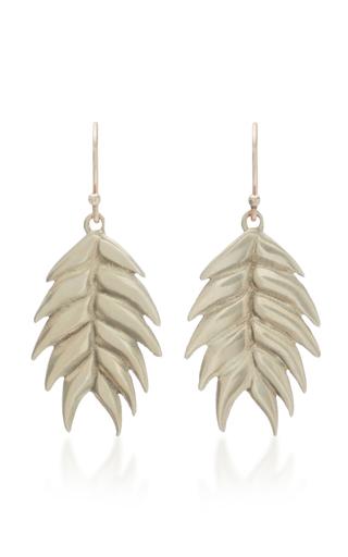 ANNETTE FERDINANDSEN | Annette Ferdinandsen Wild Oat 14K Gold Drop Earrings | Goxip
