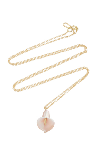 ANNETTE FERDINANDSEN | Annette Ferdinandsen 18K Gold Mother-Of-Pearl Necklace | Goxip