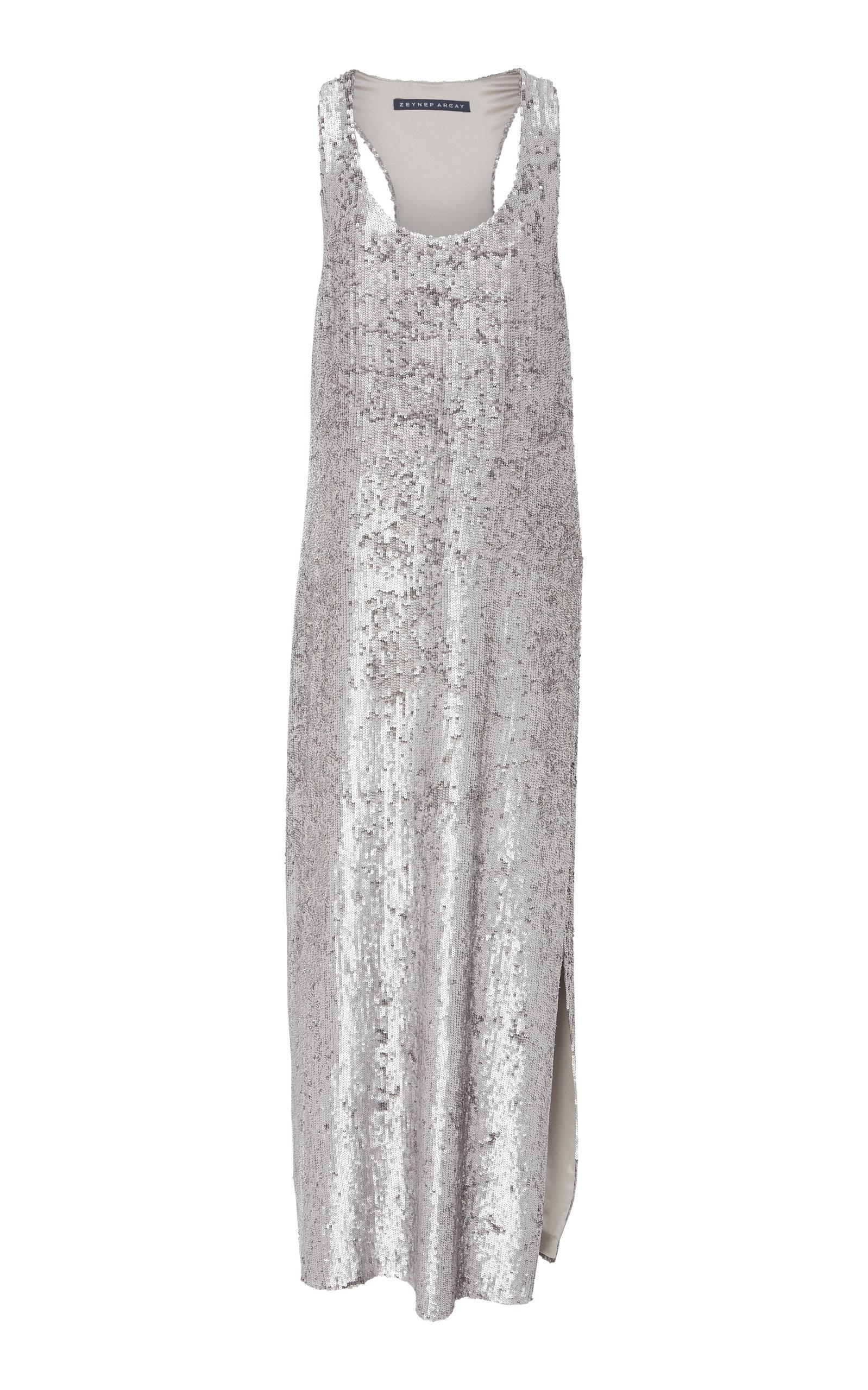 ZEYNEP ARCAY SEQUIN TANK DRESS