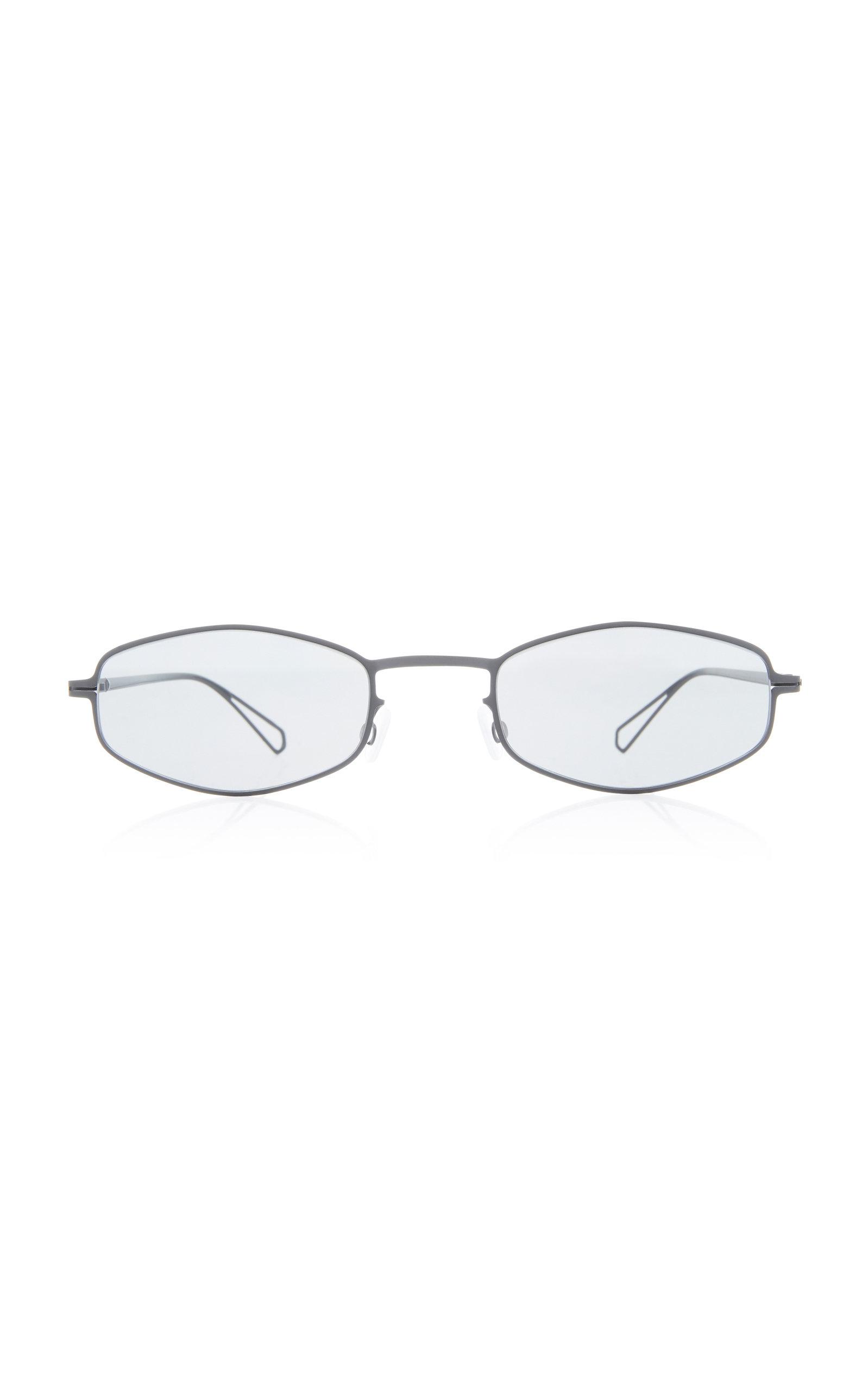 f4fd6f131ea Oval-Shaped Sunglasses by Mykita