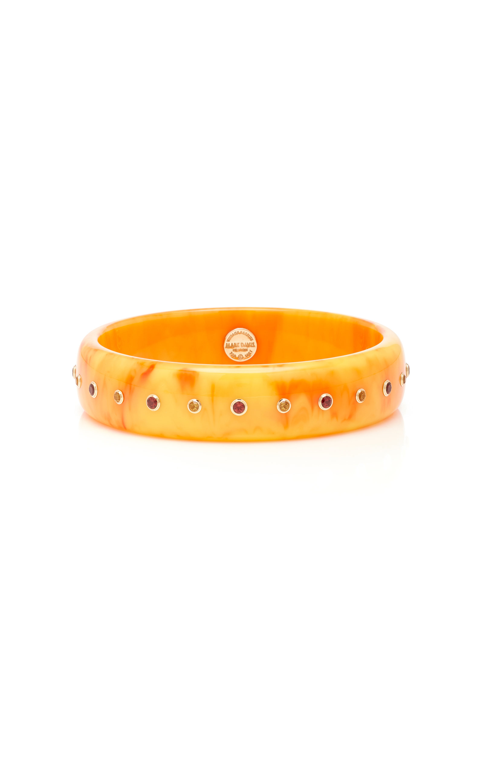MARK DAVIS M'O EXCLUSIVE: ONE-OF-A-KIND YELLOW EVELYN BRACELET