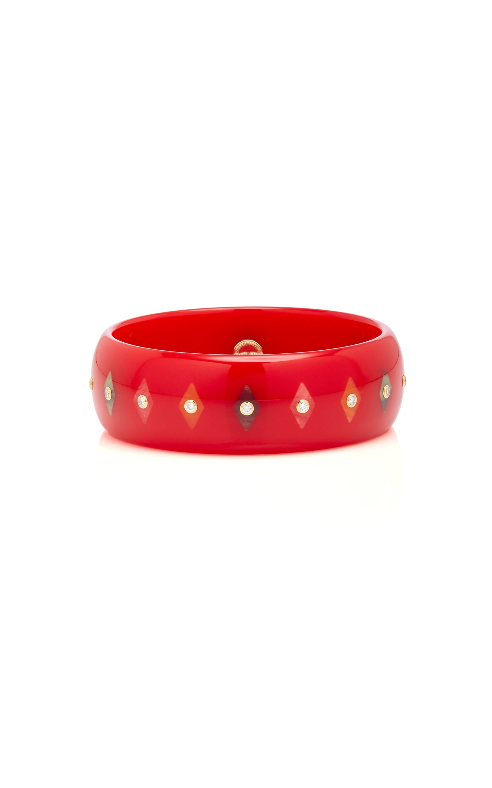 MARK DAVIS M'O EXCLUSIVE: ONE-OF-A-KIND RED PERSEPHONE BRACELET