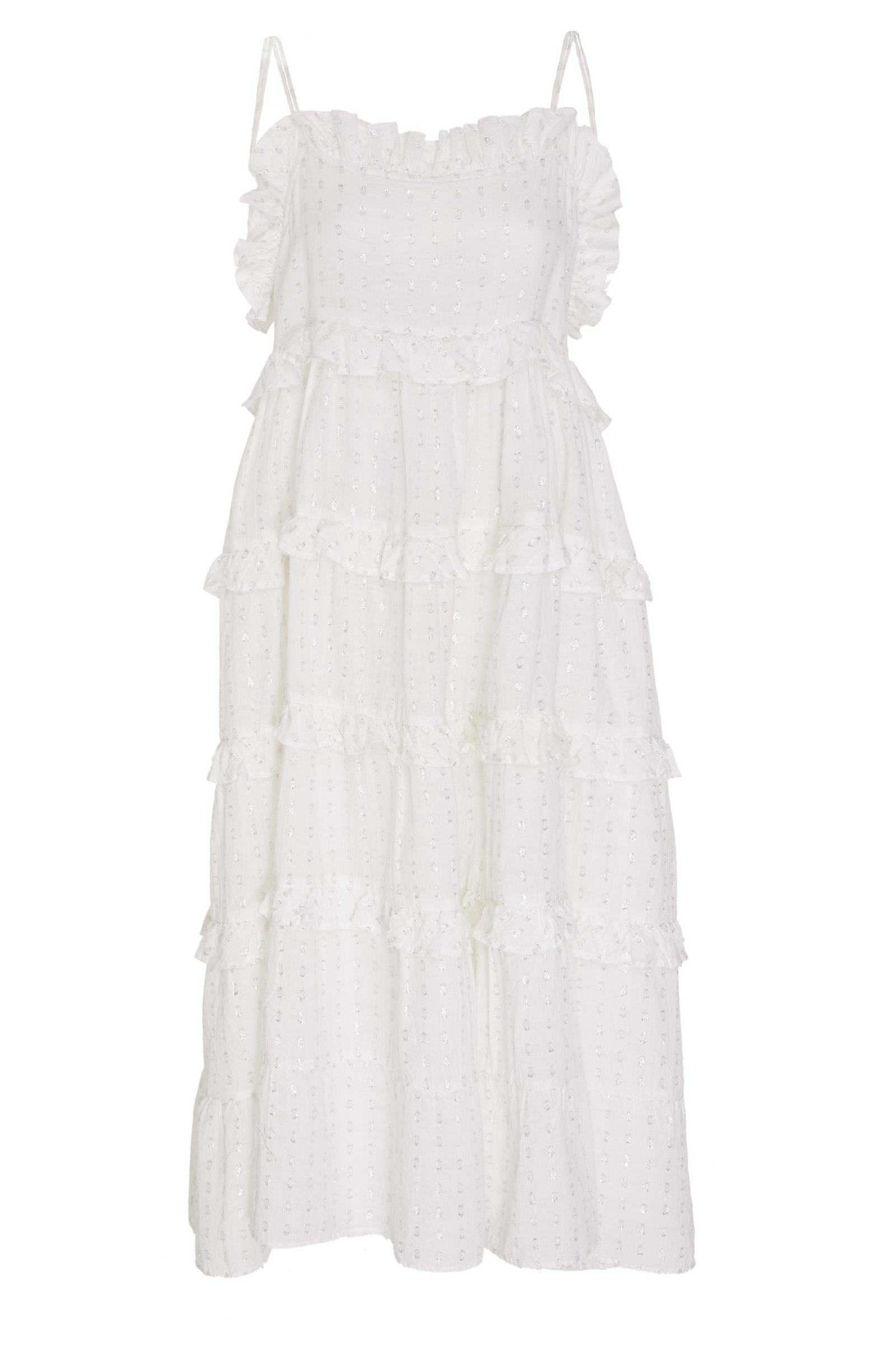 RAE FEATHER M'O EXCLUSIVE FRILL DRESS