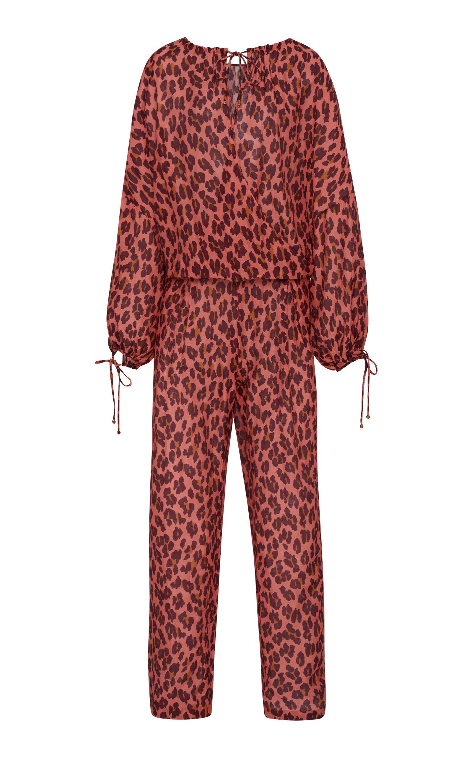 e010dd2b77 Stella McCartneyCotton-Blend Jumpsuit. CLOSE. Loading