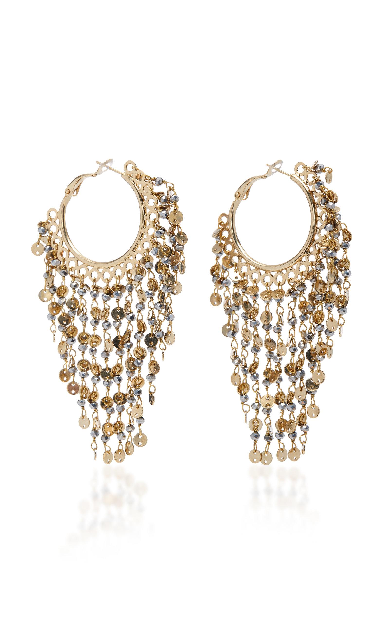 8a3b3f308769f Fred Gold-Tone Fringe Earrings