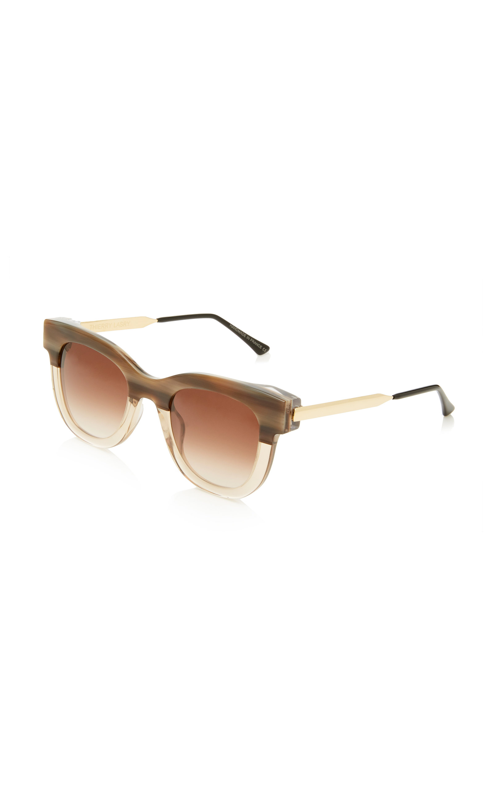8c1e01916b Thierry LasrySEXXXY 341 Two-Tone Cat-Eye Sunglasses. CLOSE. Loading. Loading