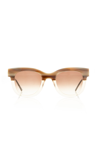 THIERRY LASRY | Thierry Lasry SEXXXY 341 Two-Tone Cat-Eye Sunglasses | Goxip