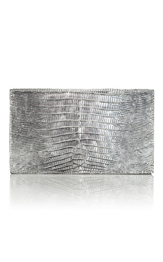 Medium nancy gonzalez black box crocodile clutch