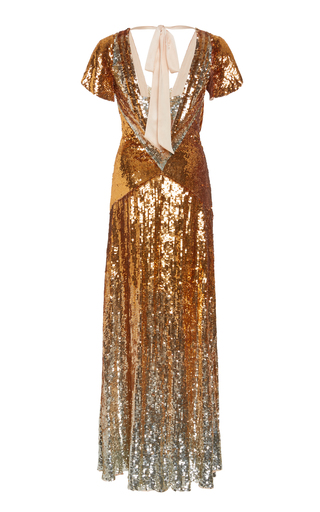 ca595448f69 Temperley LondonExclusive Ruth Sequined Gown