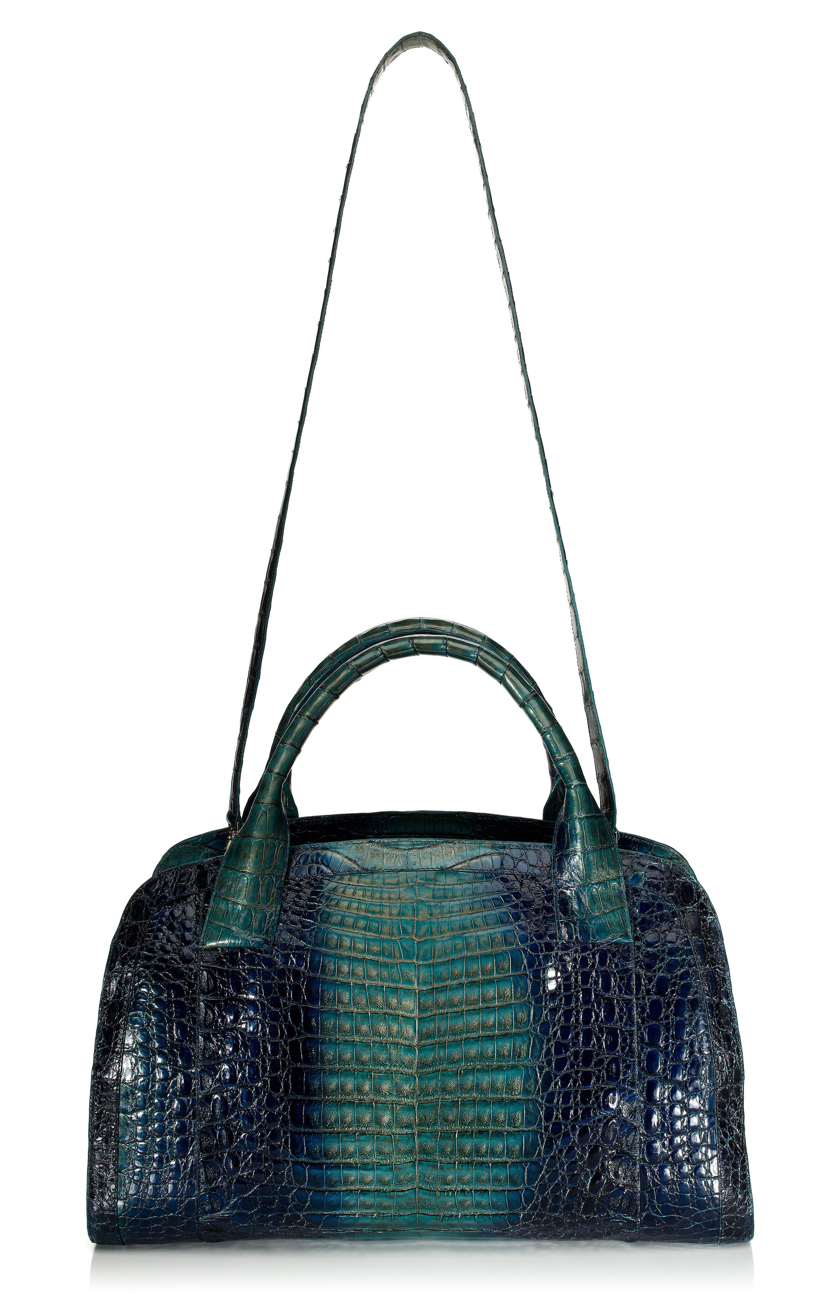 Degrade crocodile tote by nancy gonzalez moda operandi for Nancy gonzalez crocodile tote