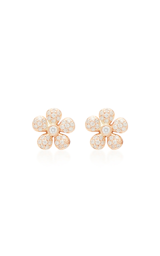 COLETTE JEWELRY | Colette Jewelry 18K Gold and Diamond Earrings | Goxip