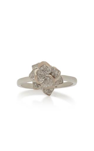 COLETTE JEWELRY | Colette Jewelry 18K White Gold Diamond Ring | Goxip