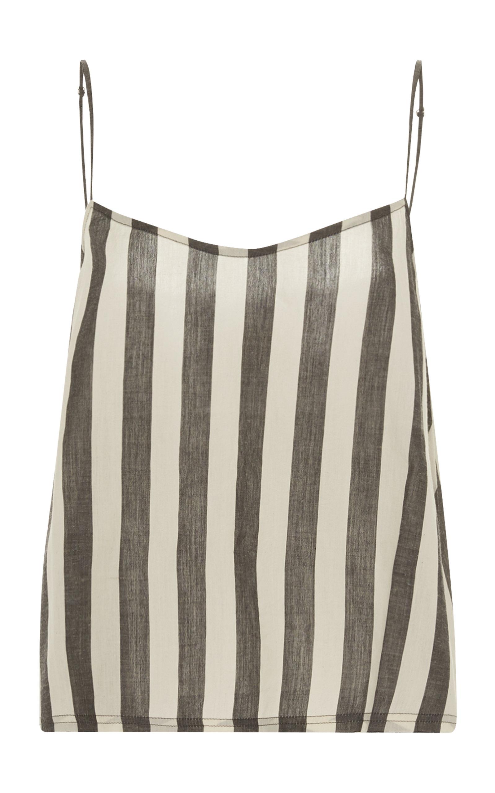 ANAAK Akari Striped Cotton Top