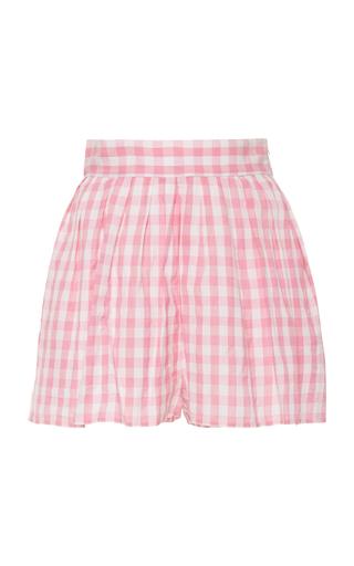 ANAAK   Anaak Annex Gingham Cotton-Poplin Shorts   Goxip