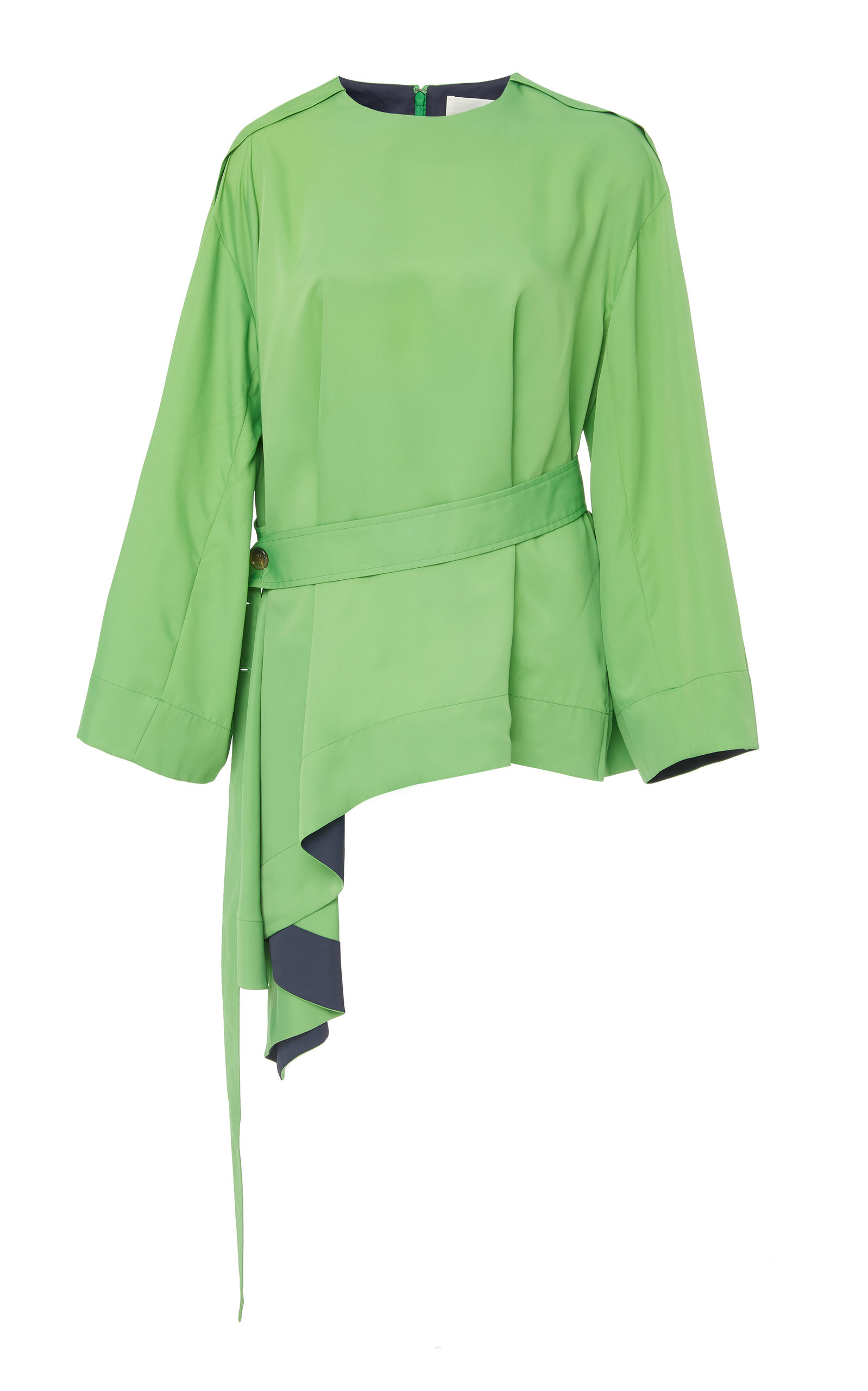 CYCLAS TWILL FLAIR BLOUSE