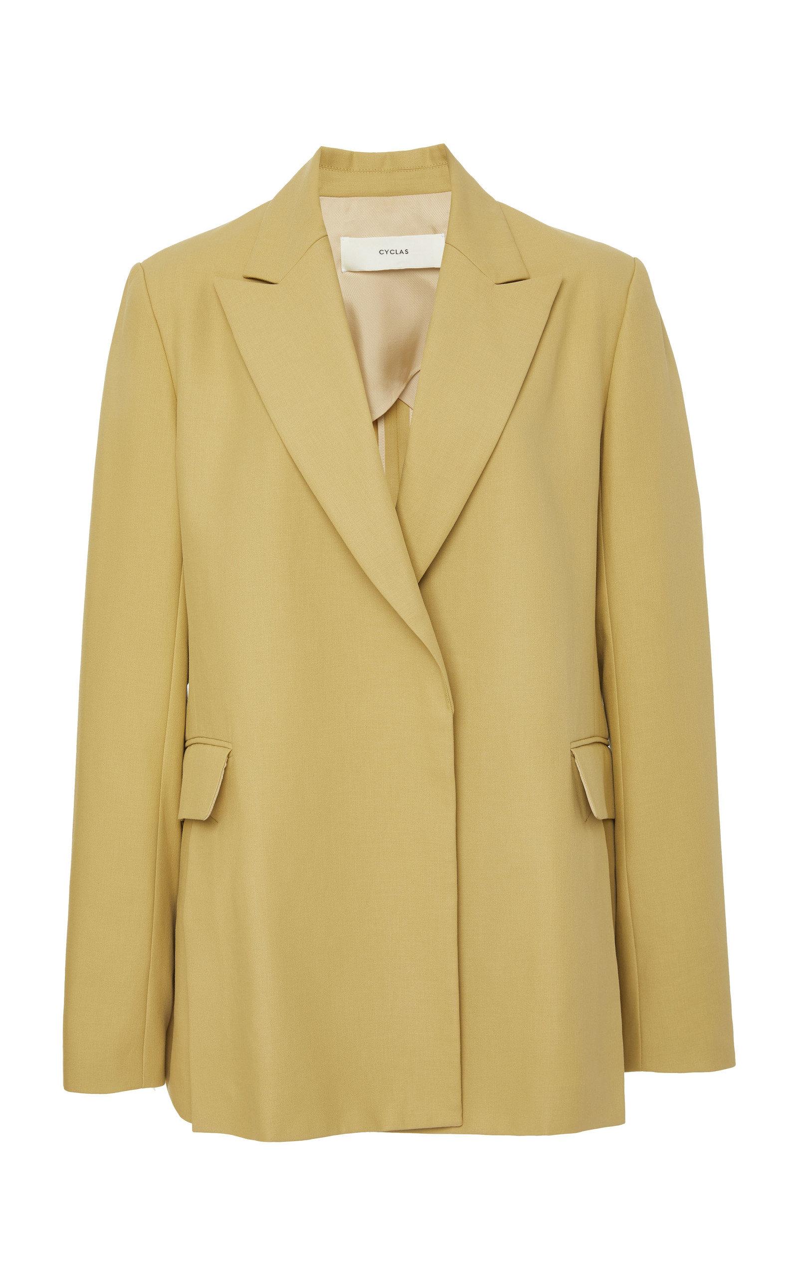 COTTON CLOTH BLAZER JACKET