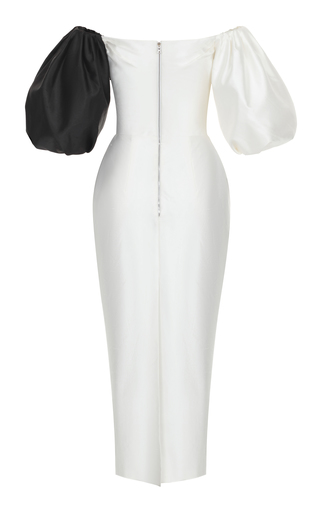Black And White Midi Dress By Rasario Moda Operandi