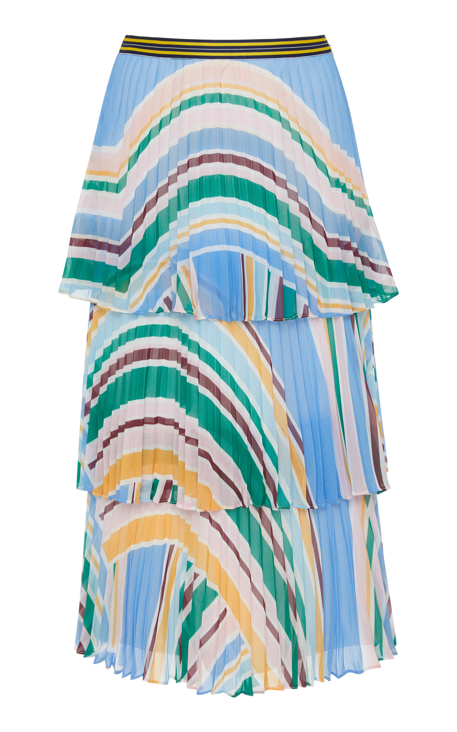 RACHEL GILBERT SOEKIE TIERED SKIRT
