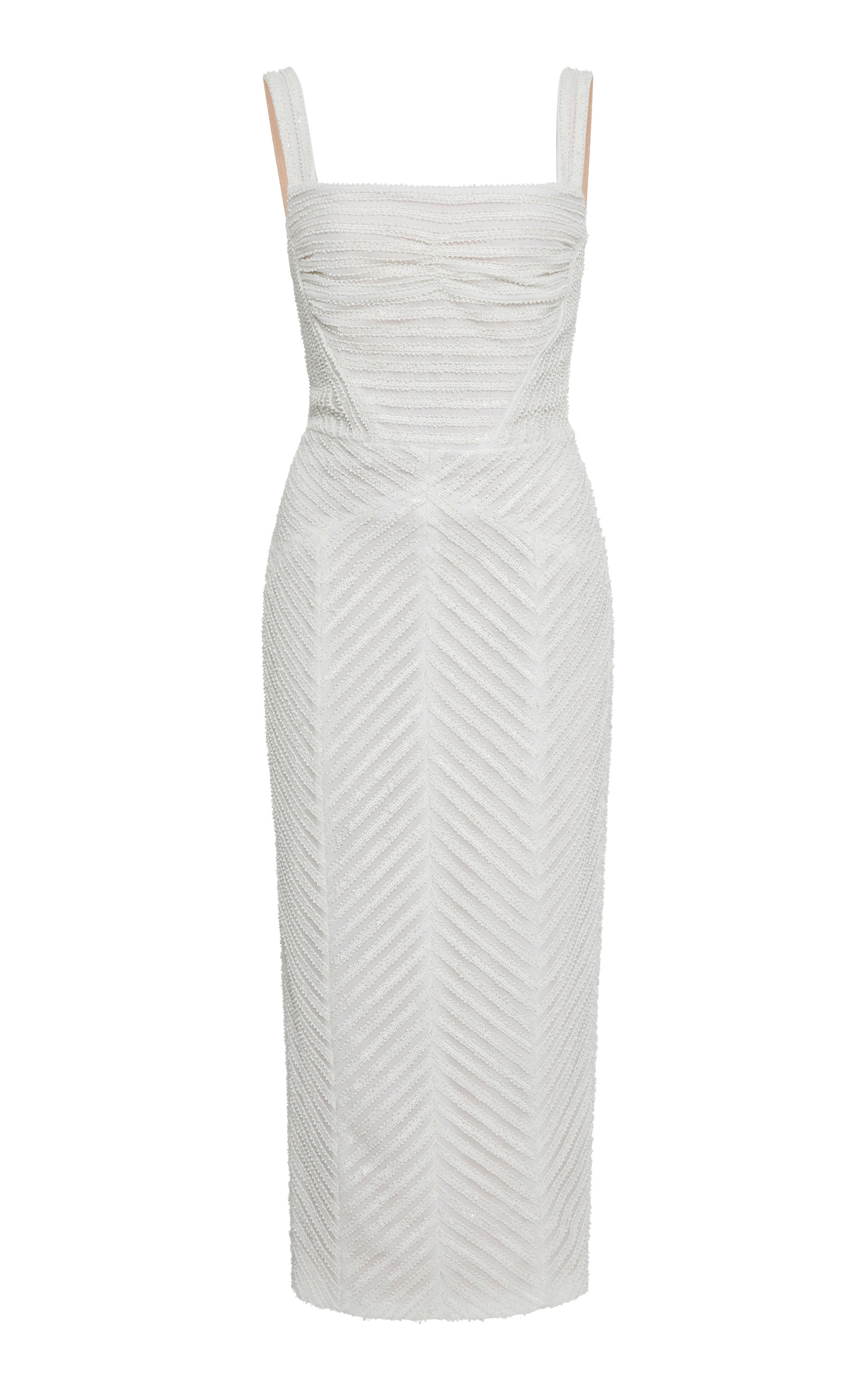 RACHEL GILBERT PIPPIN TEXTURED DRESS