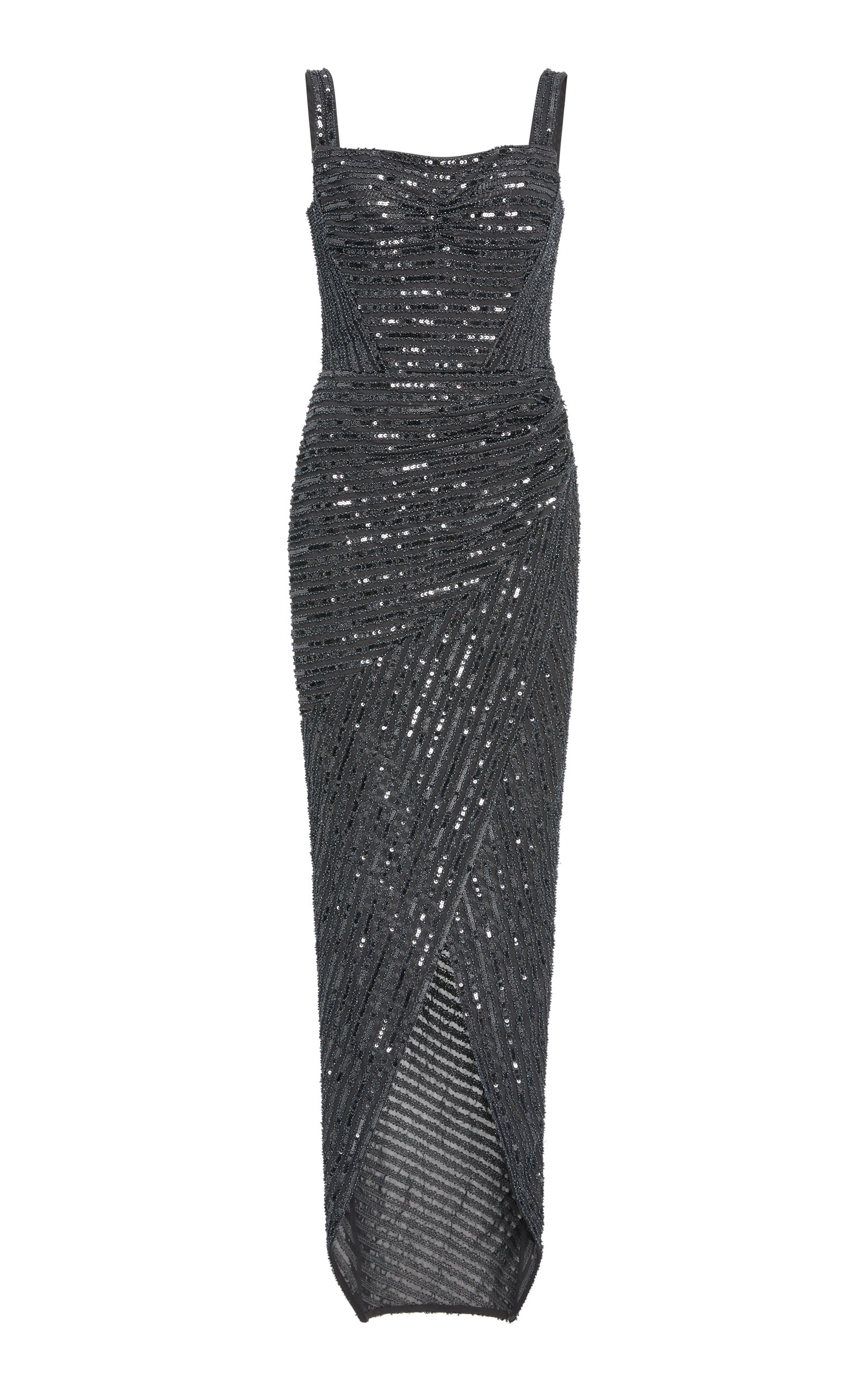 RACHEL GILBERT PIPPIN BEADED GOWN