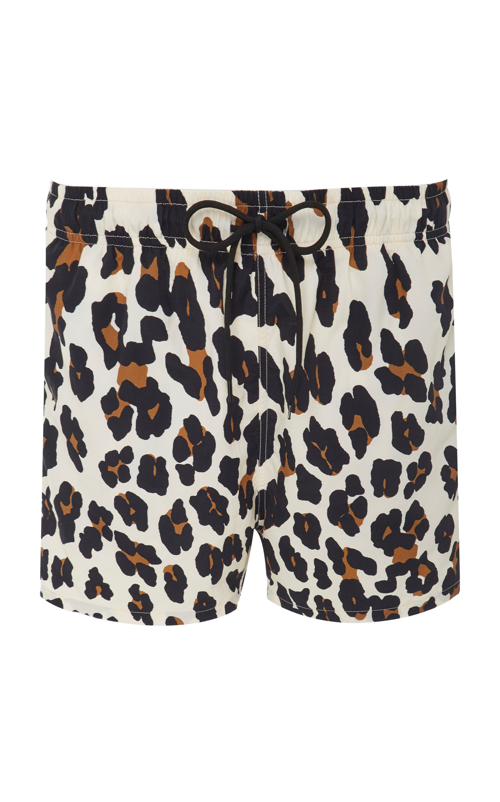 d40c69f1ab70e Solid & Striped Solid And Striped Off-White Leopard Classic Swim Shorts In  1662 Leopar