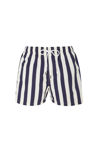 SOLID & STRIPED | Solid & Striped Striped Swim Shorts | Goxip