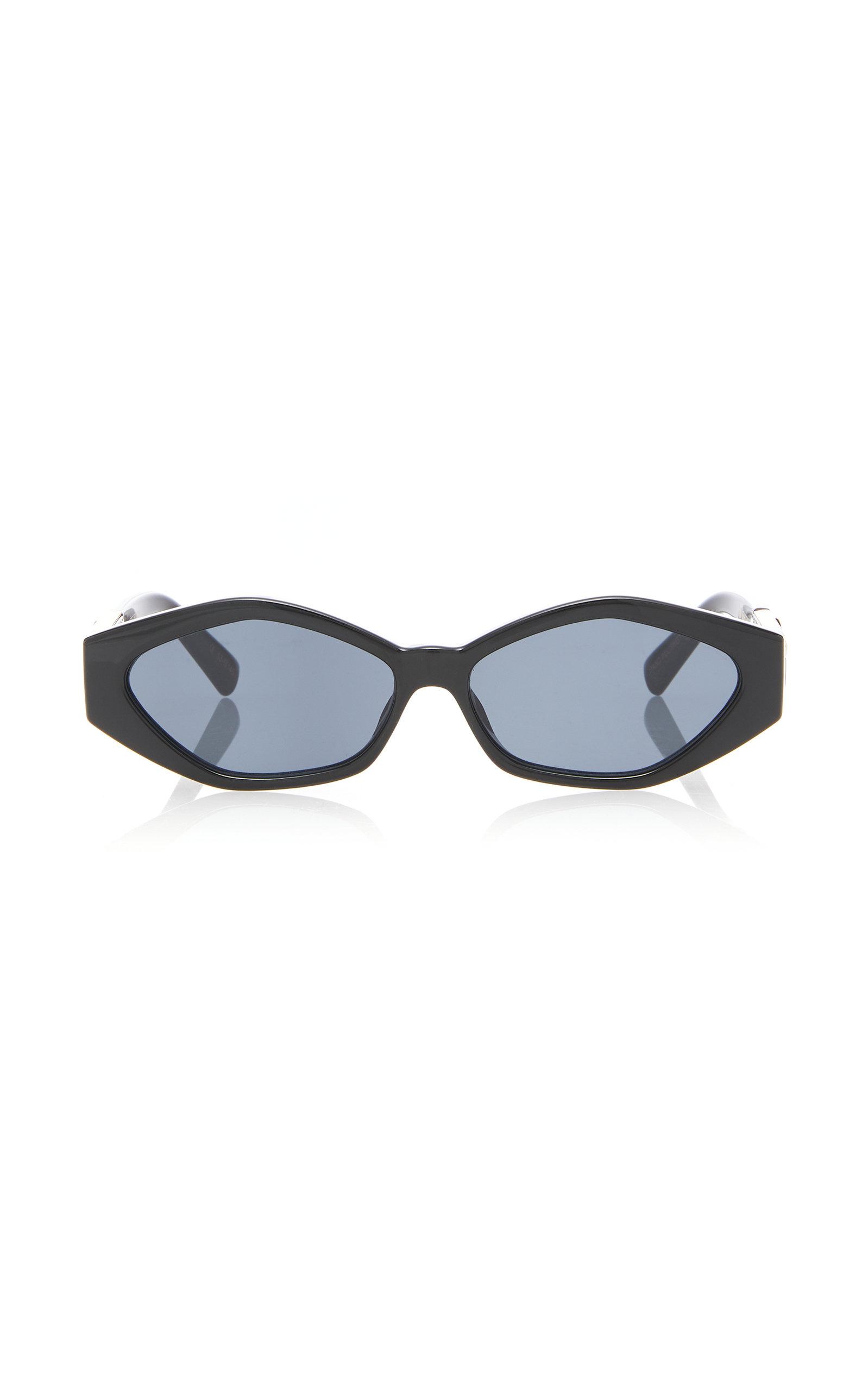 JORDAN ASKILL X LE SPECS LUXE Petit Panthère Sunglasses in Black