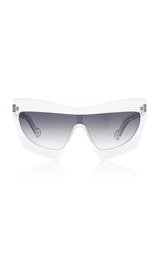 PAWAKA | PAWAKA Duabelas Oversized Aviator-Style Acetate Sunglasses | Goxip