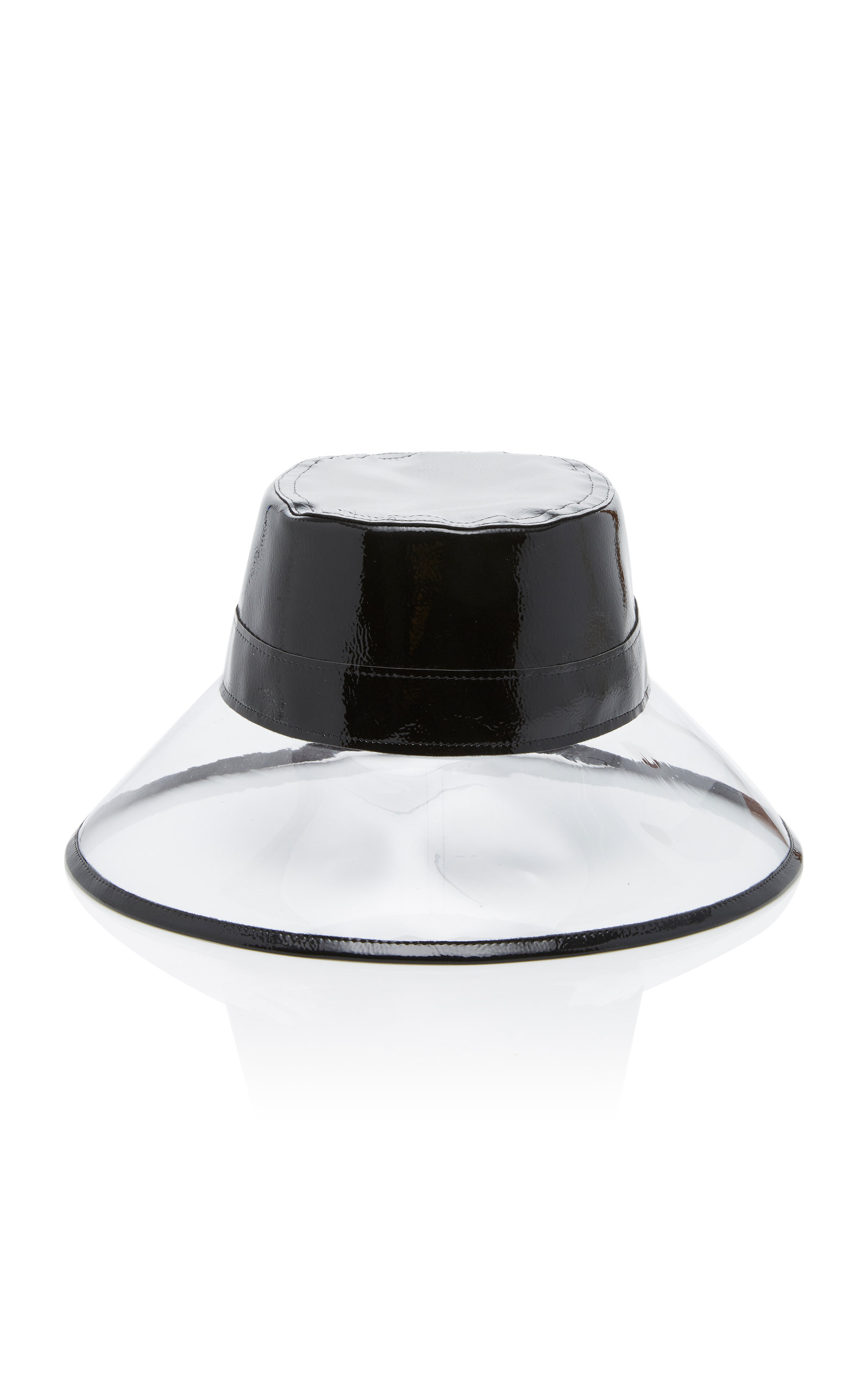 Go-Go Patent Leather and PVC Bucket Hat by Eric  6dbe5566a1b