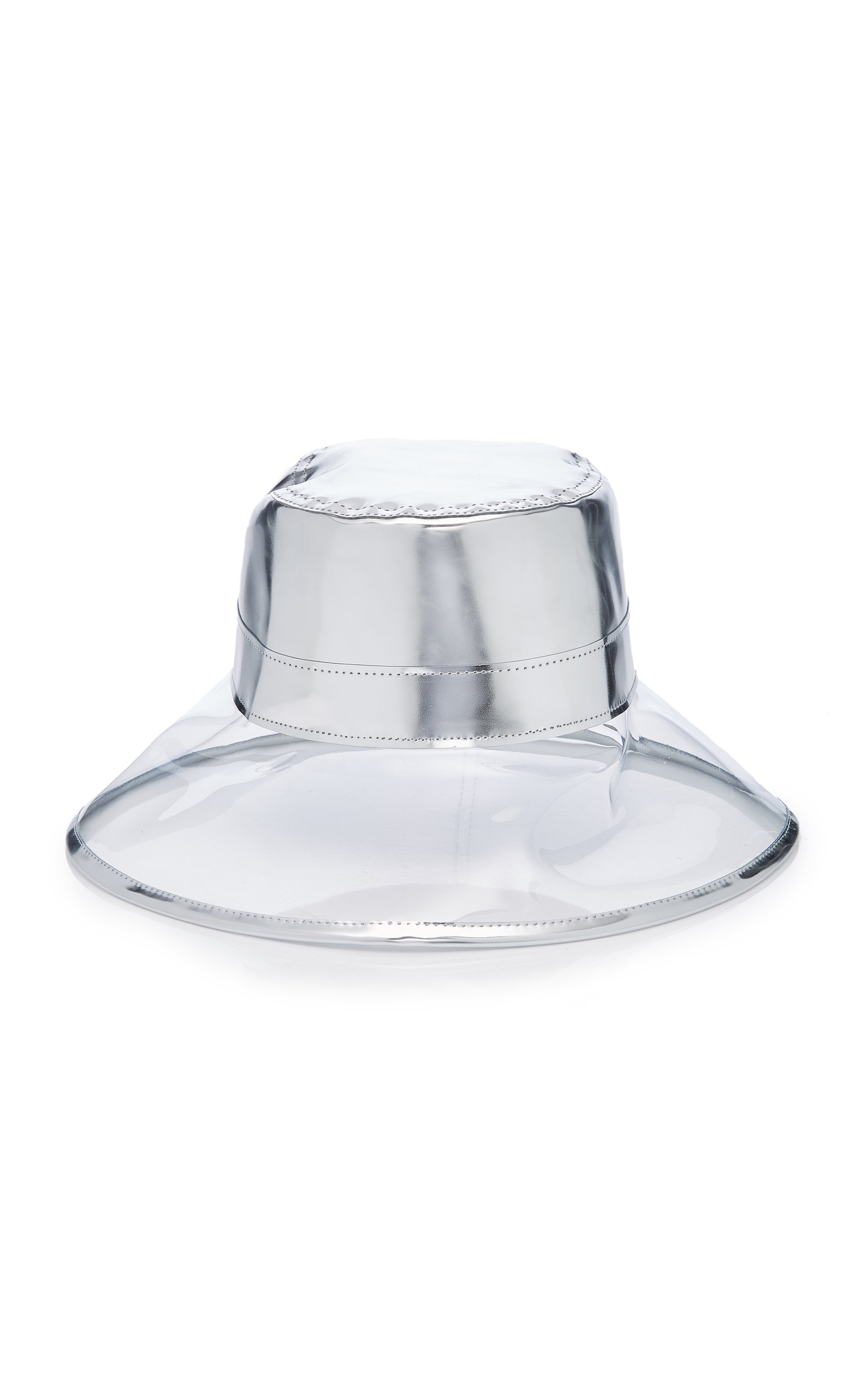 Eric Javits Hats GO-GO PATENT LEATHER AND PVC BUCKET HAT