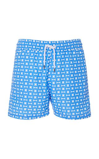 FRESCOBOL CARIOCA   Frescobol Carioca Urca Printed Swim Shorts   Goxip