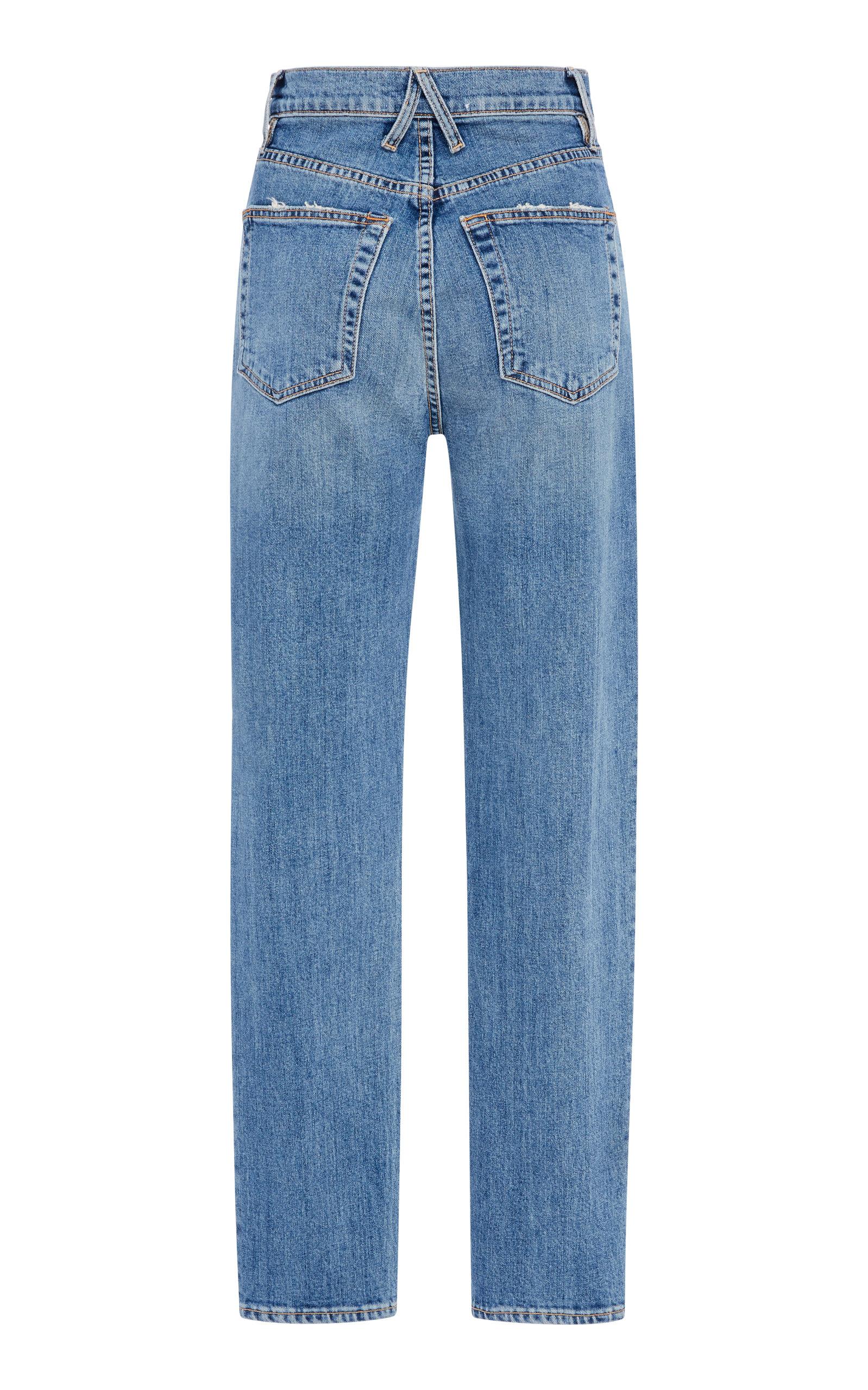 755dd50f Beatnik High-Rise Slim-Leg Jeans