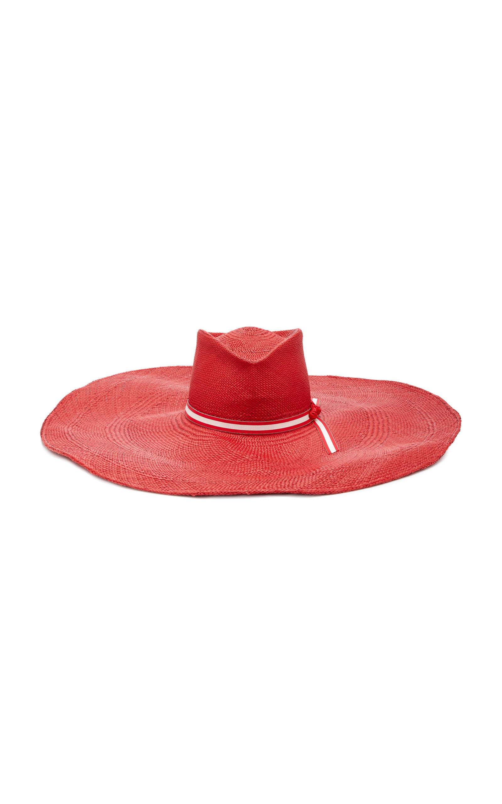 GLADYS TAMEZ MILLINERY Daphne Hat in Red