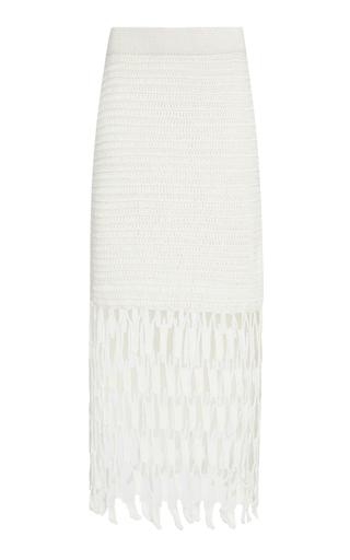 AYNI | Ayni Tarania Crochet Skirt | Goxip
