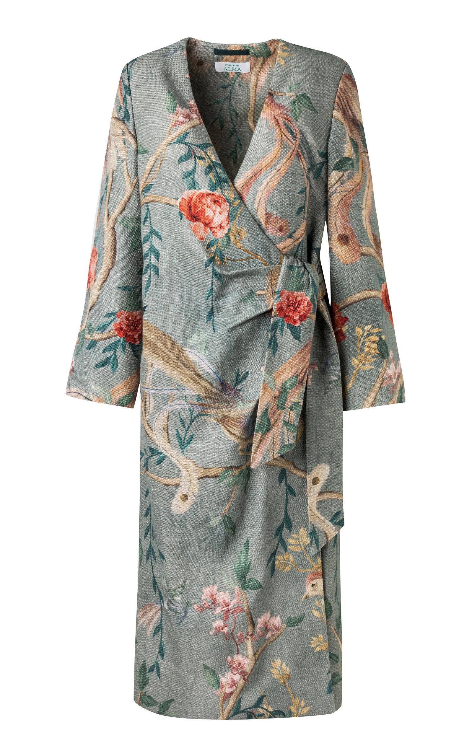 MAISON ALMA PARAISO WRAP DRESS