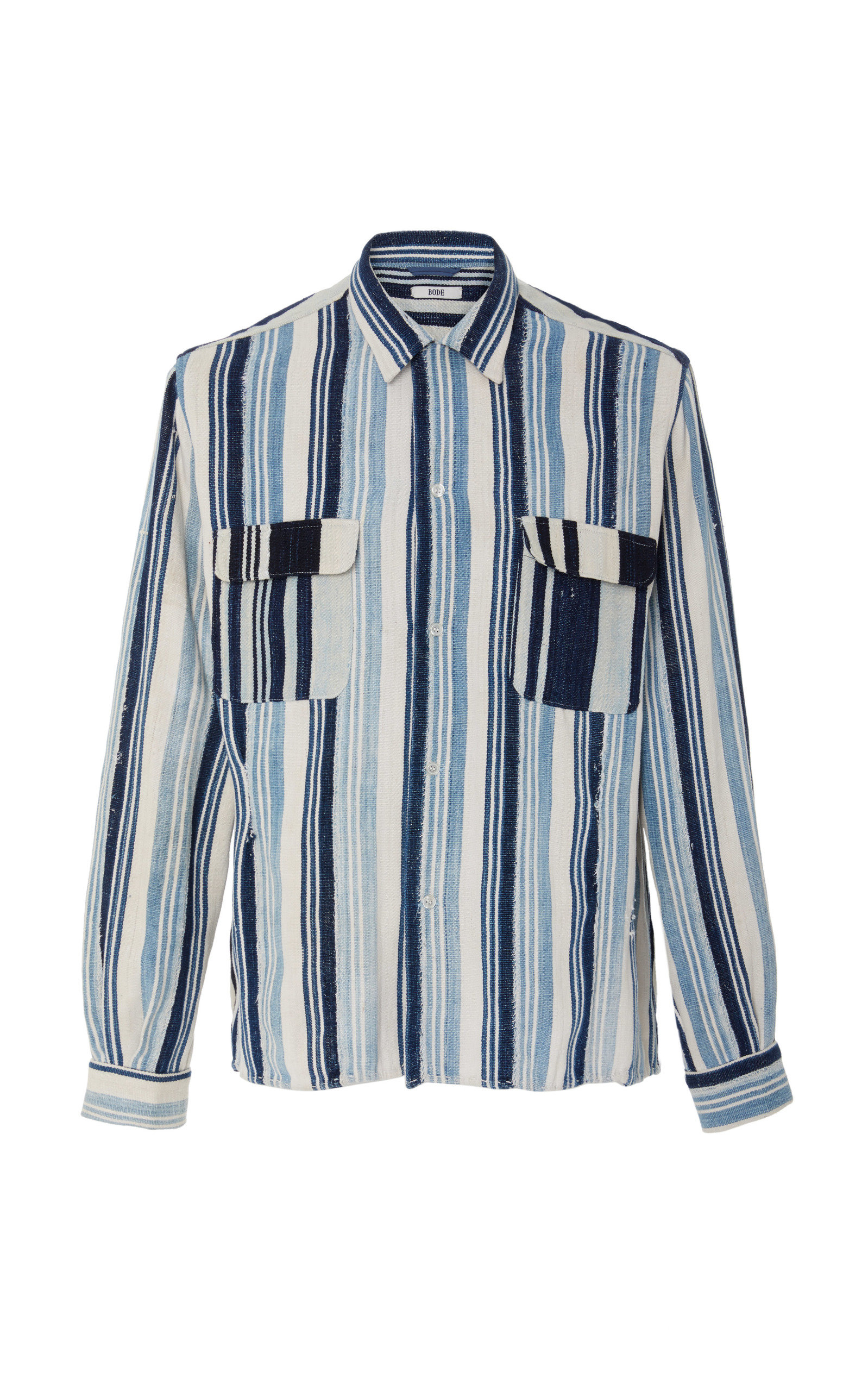 BODE AFRICAN COUNTRY CLOTH SHIRT