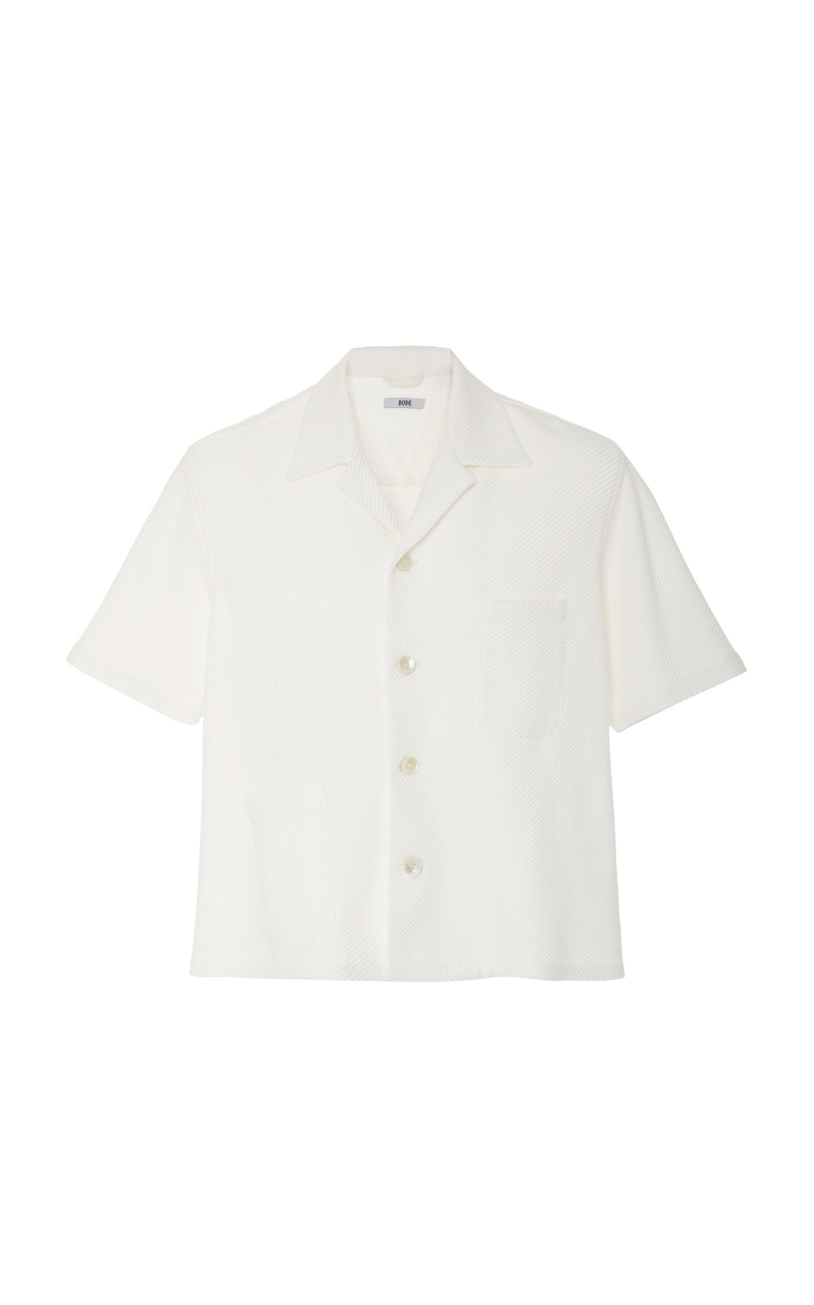 BODE RIBBED LOUIE SHIRT