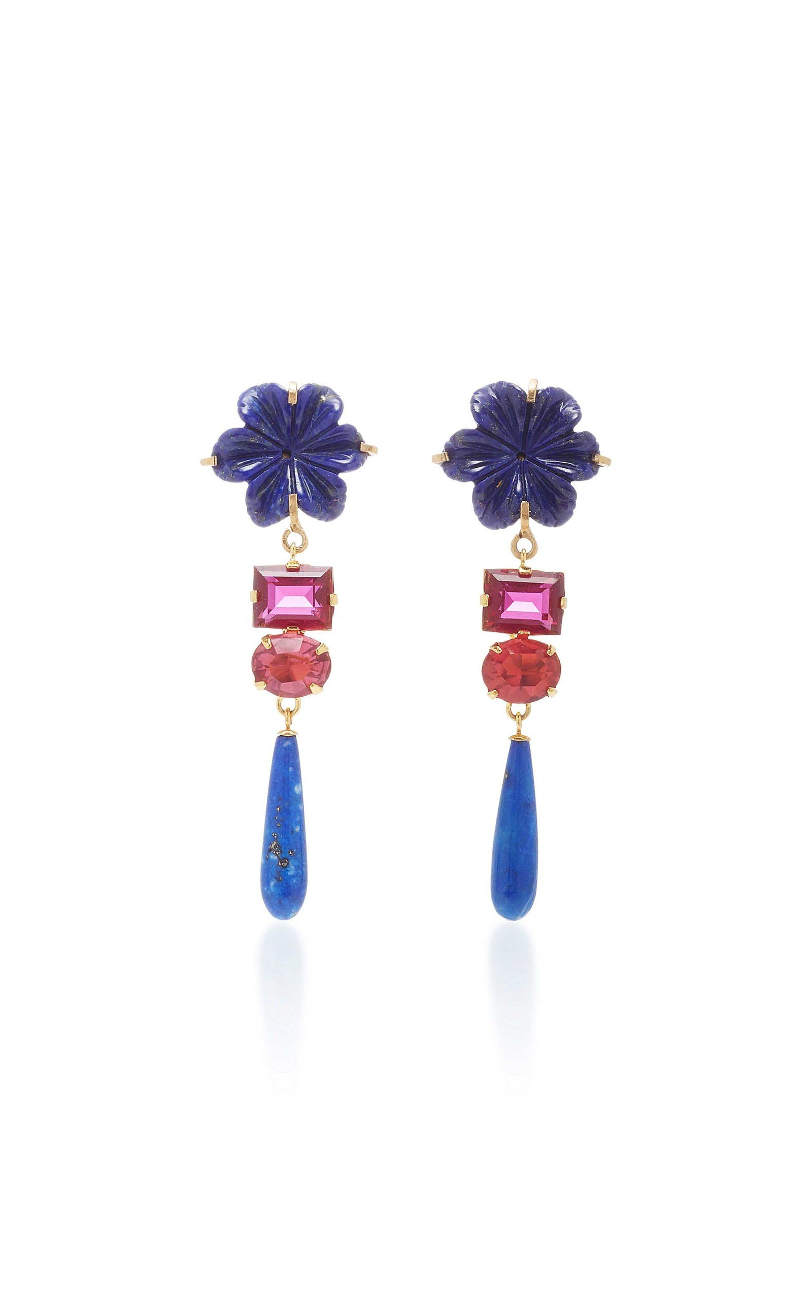 BAROQUE FLOWER EARRINGS