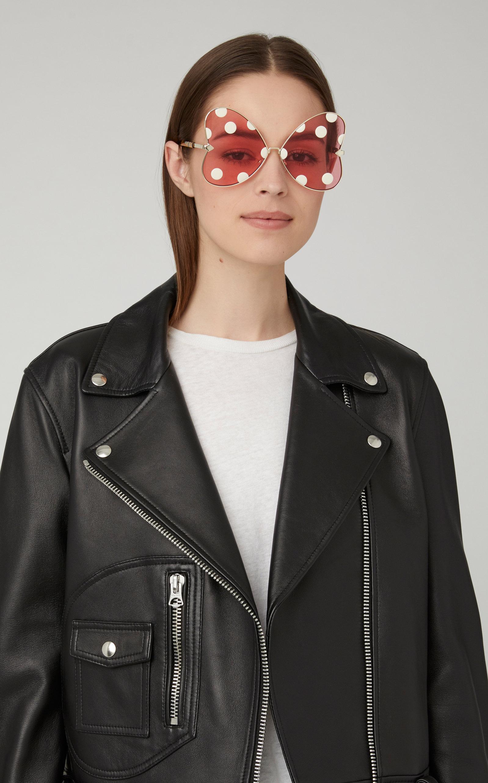 75e1a687a2a Karen Walker X DisneyMinnie Bow Oversized Sunglasses. CLOSE. Loading