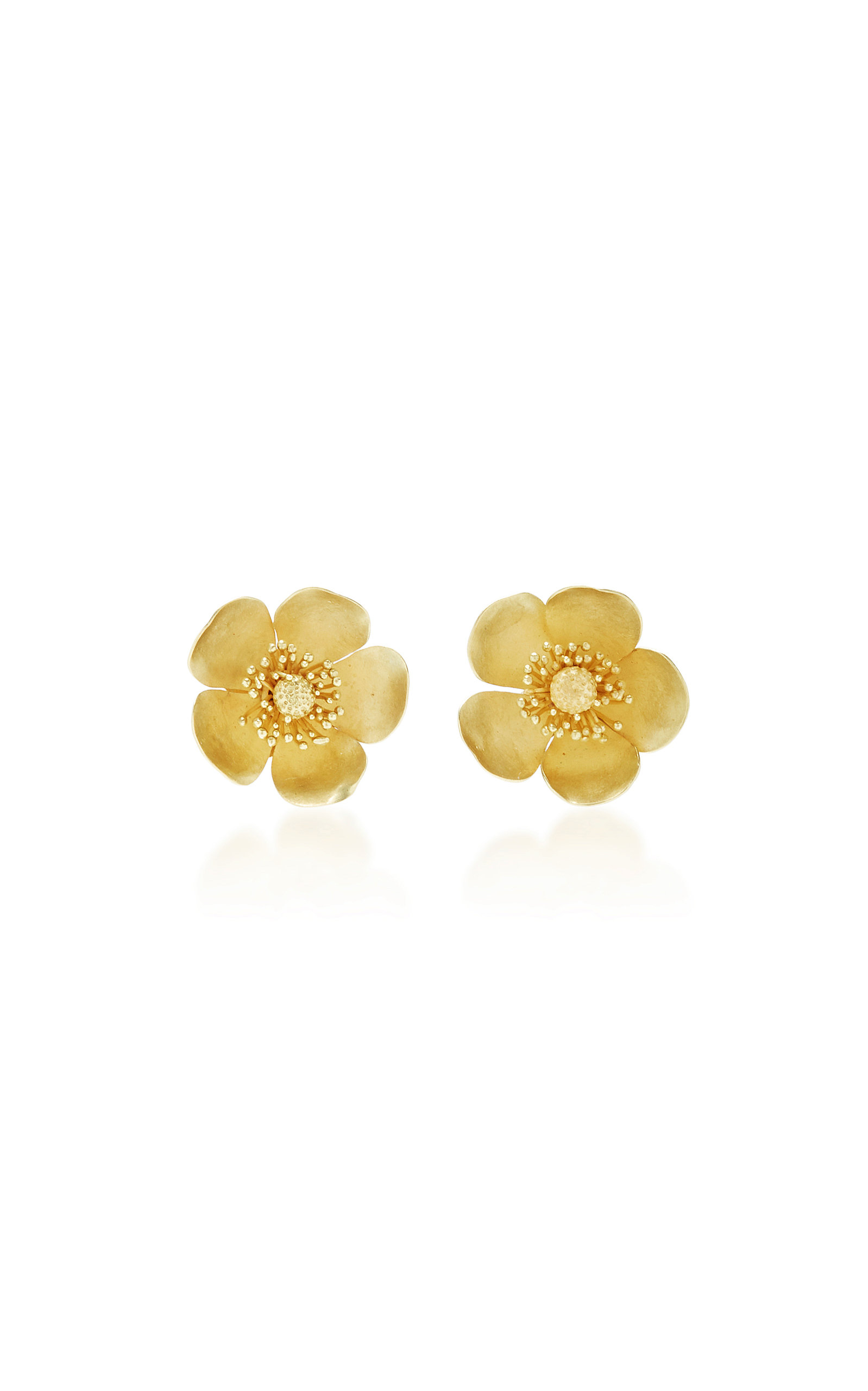 CHRISTOPHER THOMPSON ROYDS LIMITED EDITION BUTTERCUP STUD EARRINGS & PENDANT