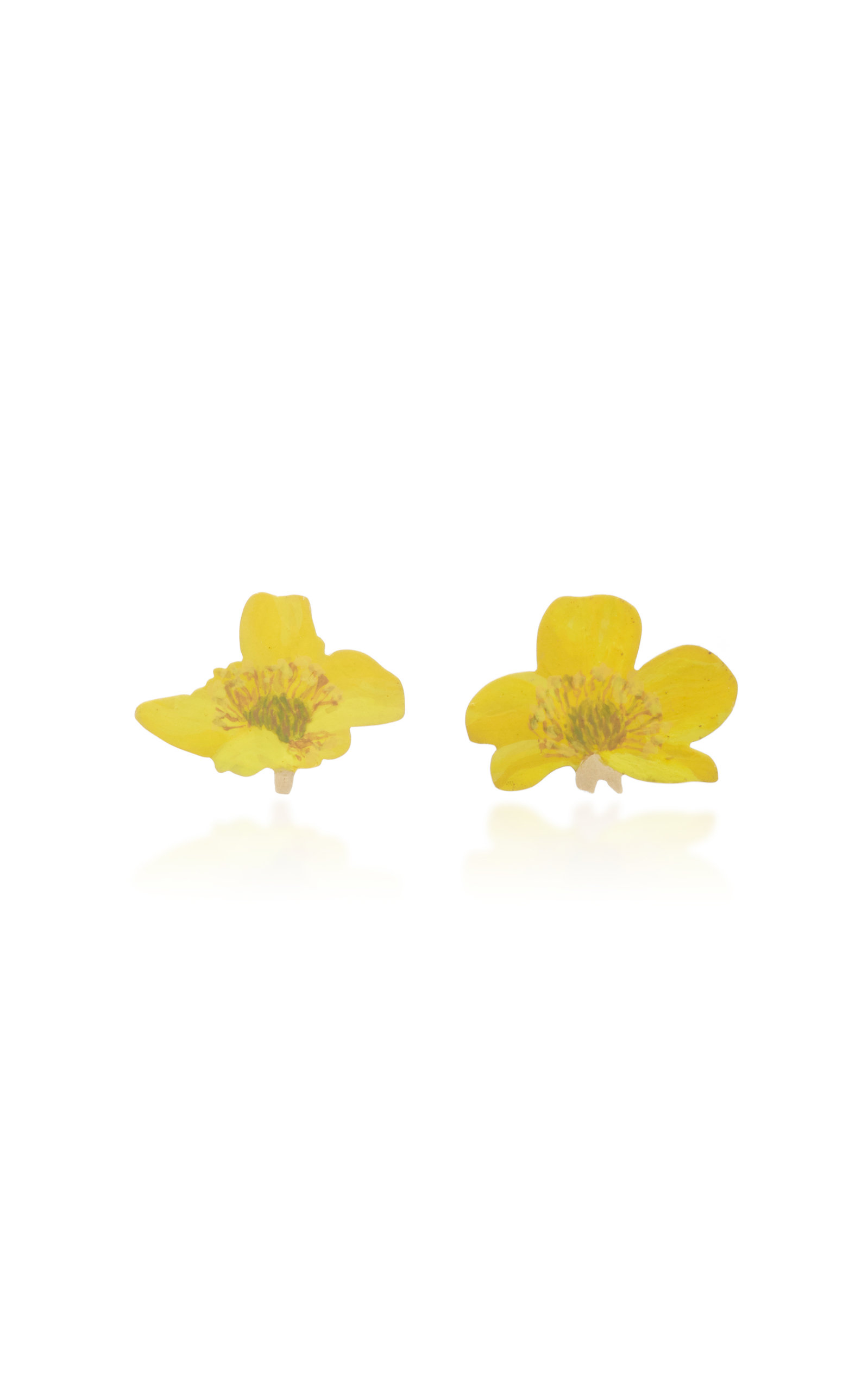 CHRISTOPHER THOMPSON ROYDS BUTTERCUP STUD EARRINGS