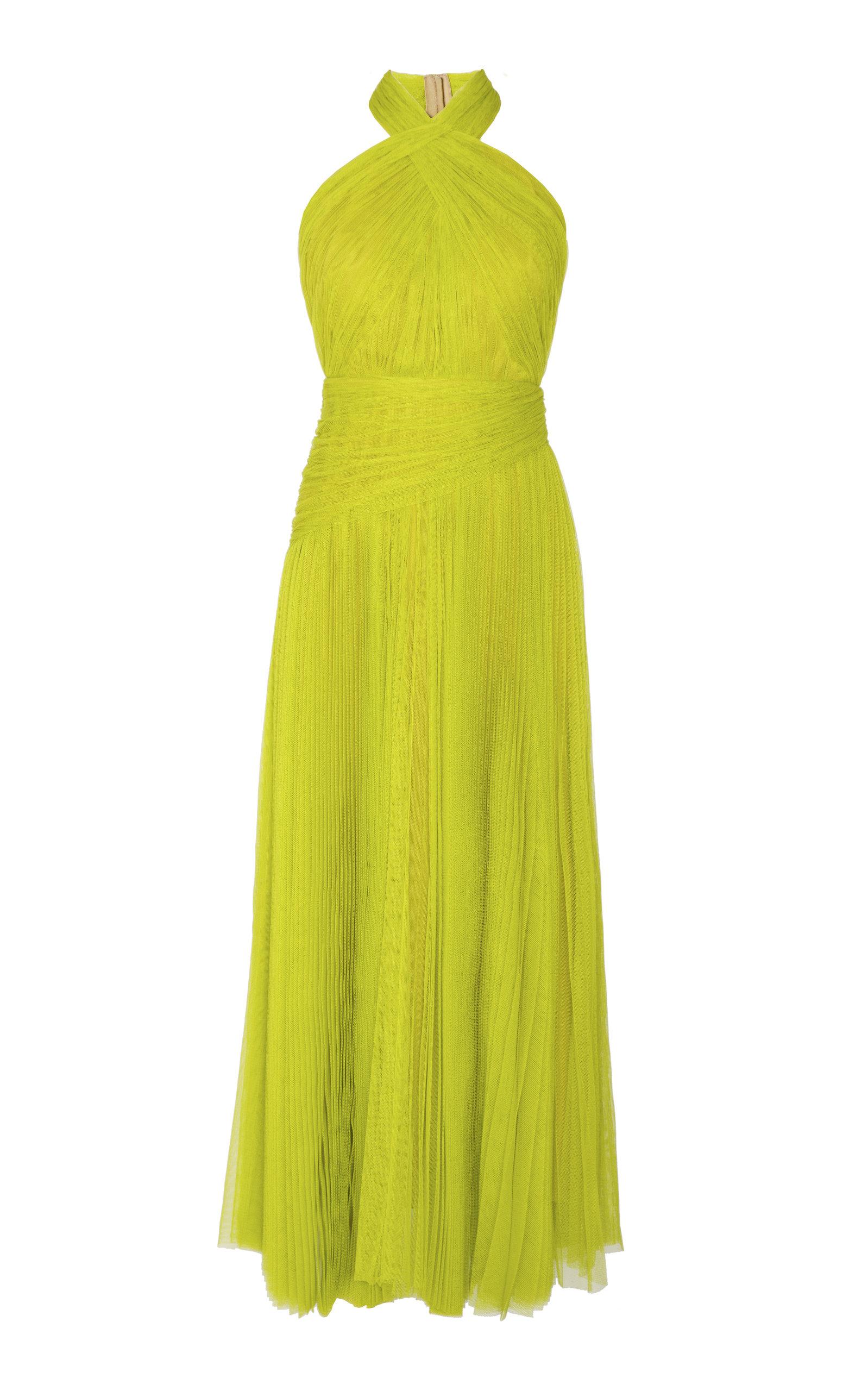 a5e034f39c48 Maria Lucia HohanNina Pleated Tulle Dress. CLOSE. Loading