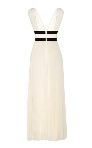 b473ca7caa863 Silk Charmeuse Cowl Neck Column Gown by Zac Posen   Moda Operandi