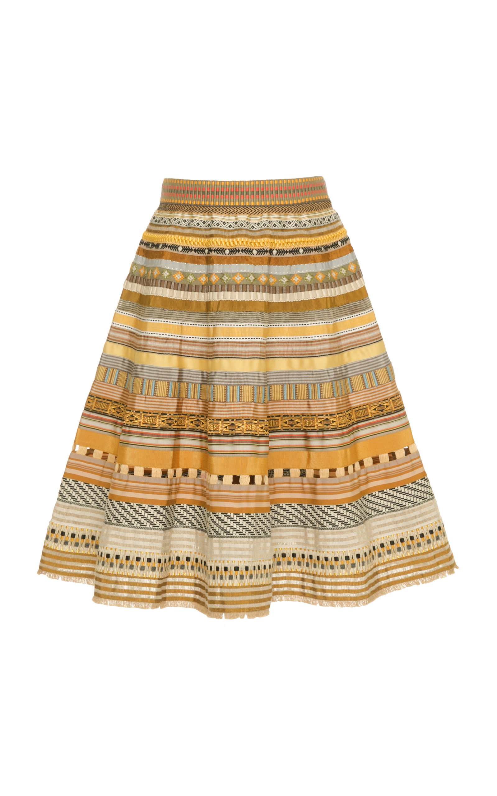 RIBBON A-LINE SKIRT
